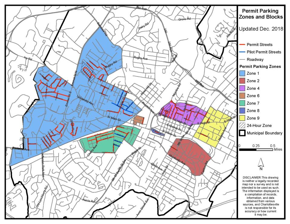 Zone Permit Parking Map (PDF)