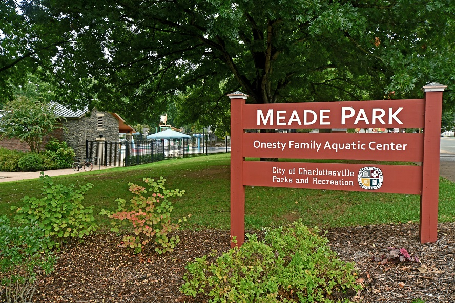 Meade Park Sign