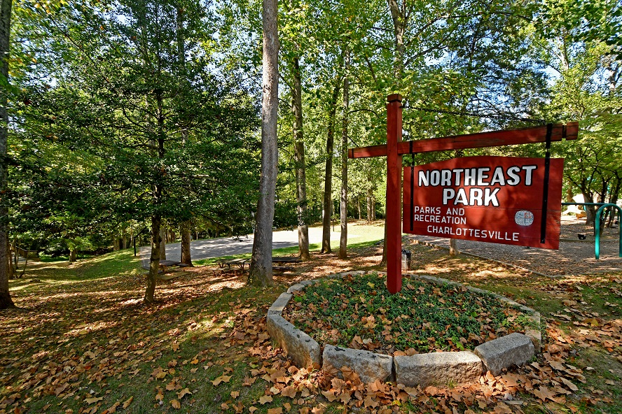 Northeast Park Sign