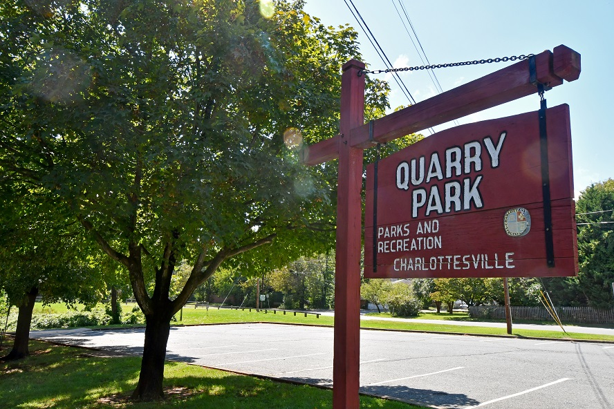 Quarry Park Sign
