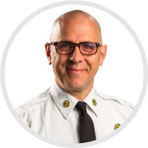 Andrew Baxter, Fire Chief