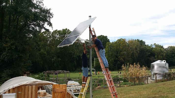 Buford Greenhouse Off Grid Solar System 1