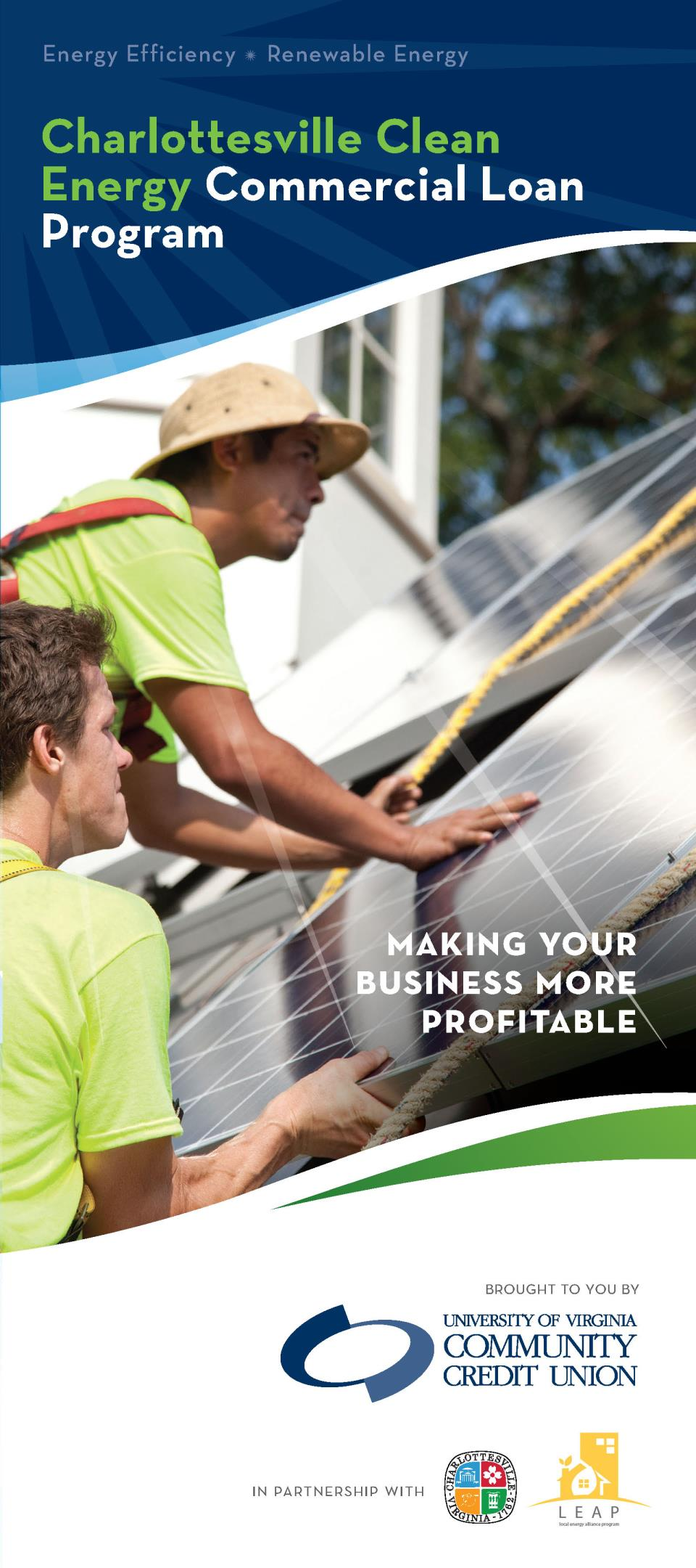 Clean Energy Loan Fund brochure for Commercial and Non-Residental properties in the City Opens in new window