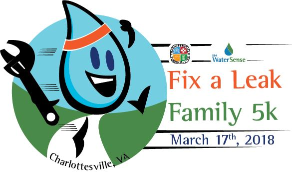Fix a Leak Family 5K in 2018 Logo