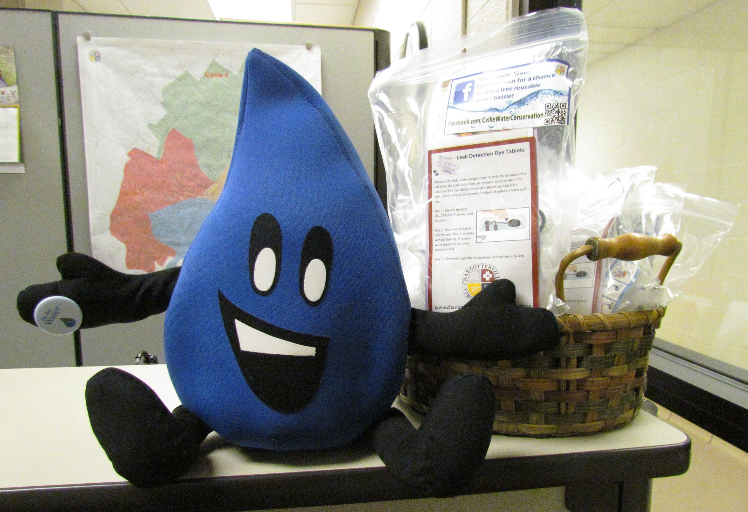 Flo and Water Conservation Kits at Office Utility Billing