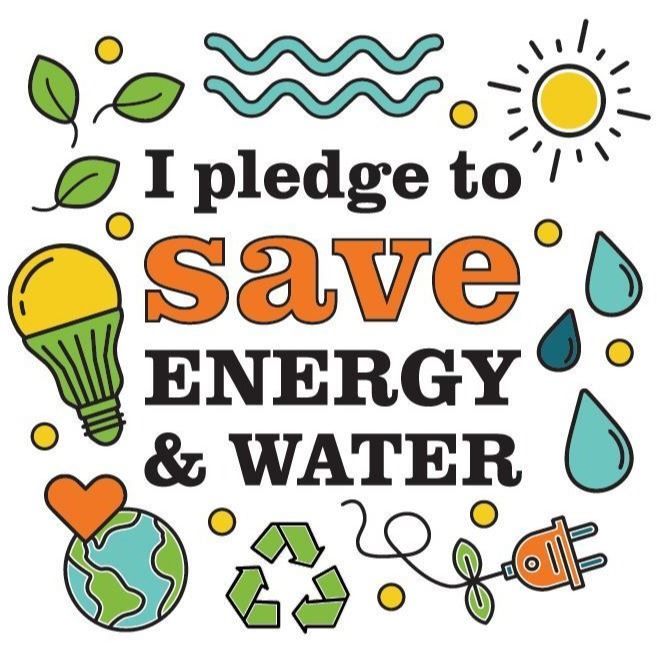 2020 Summer Activity Sheet I Pledge to Save Energy and Water Image
